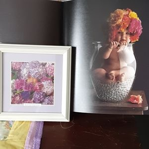 Anne Gettey book and photo with frame